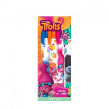 DreamWorks Trolls: Gel Crayons 4-Pack