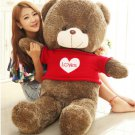 Oversized sweater teddy bear doll plush toy hug bear doll doll doll, high 100cm