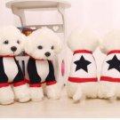 4 Teddy Dog Plush Toys Plush Doll Doll Dolls, 23cm high