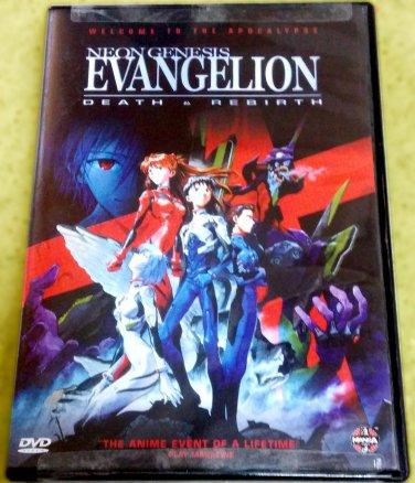 Neon Genesis Evangelion - Death and Rebirth (R1, NTSC) Brand New