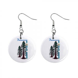 """2008 Grand Family 1"""" Button Earrings"""