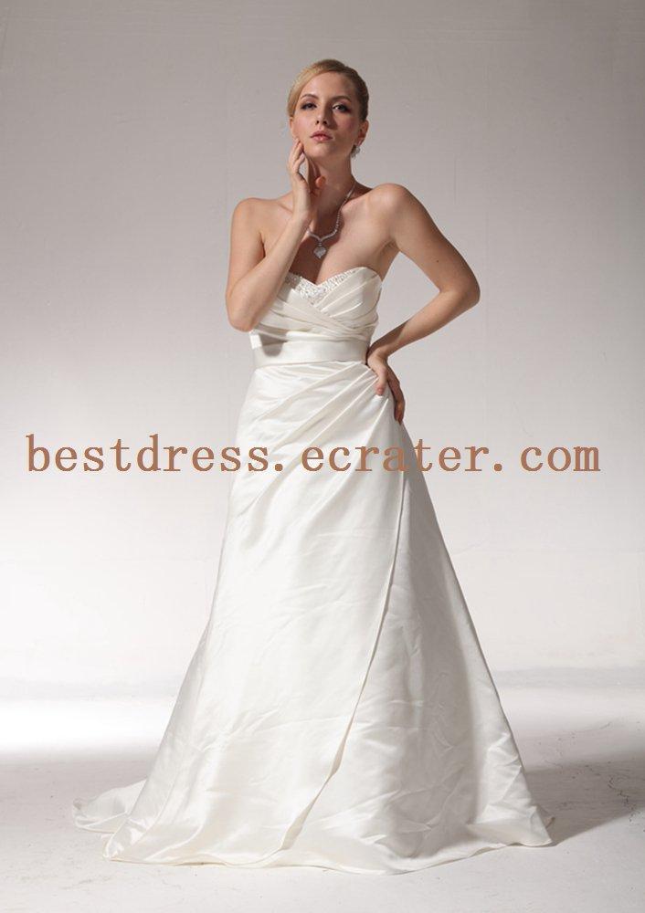 Elegant Simple A-line Wedding Dresses