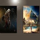 "Assassin's Creed Origins Game 18""x28"" (45cm/70cm) Bundle of 2 Posters"