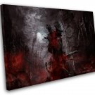 "Bloodborne Game 8""x12"" (20cm/30cm) Canvas Print"