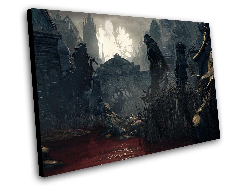 "Bloodborne The Old Hunters Game 12""x16"" (30cm/40cm) Canvas Print"
