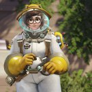 "Overwatch Anniversary Beekeeper Mei Game 13""x19"" (32cm/49cm) Poster"
