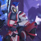 """Overwatch Anniversary Cyberian Zarya Game 13""""x19"""" (32cm/49cm) Poster"""