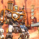 """Overwatch Anniversary Dune Buggy Bastion Game 18""""x28"""" (45cm/70cm) Poster"""