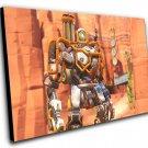 "Overwatch Anniversary Dune Buggy Bastion Game  12""x16"" (30cm/40cm) Canvas Print"