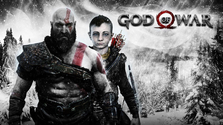 "God of War 2017 Game 18""x28"" (45cm/70cm) Poster"
