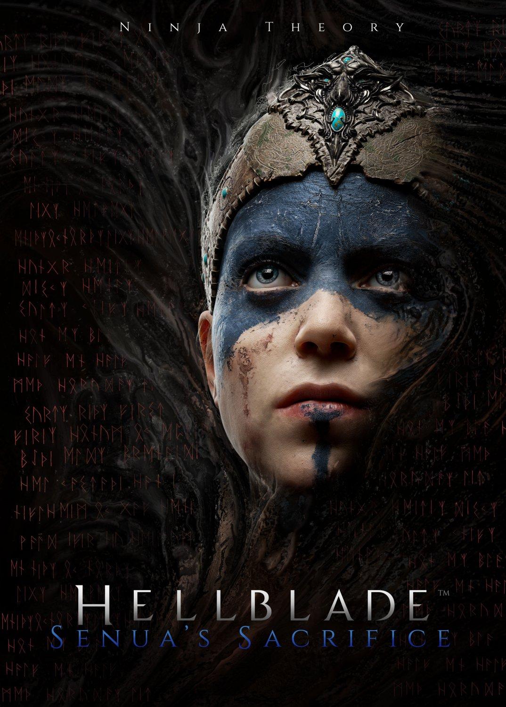 "Hellblade Senua's Sacrifice Game  13""x19"" (32cm/49cm) Poster"
