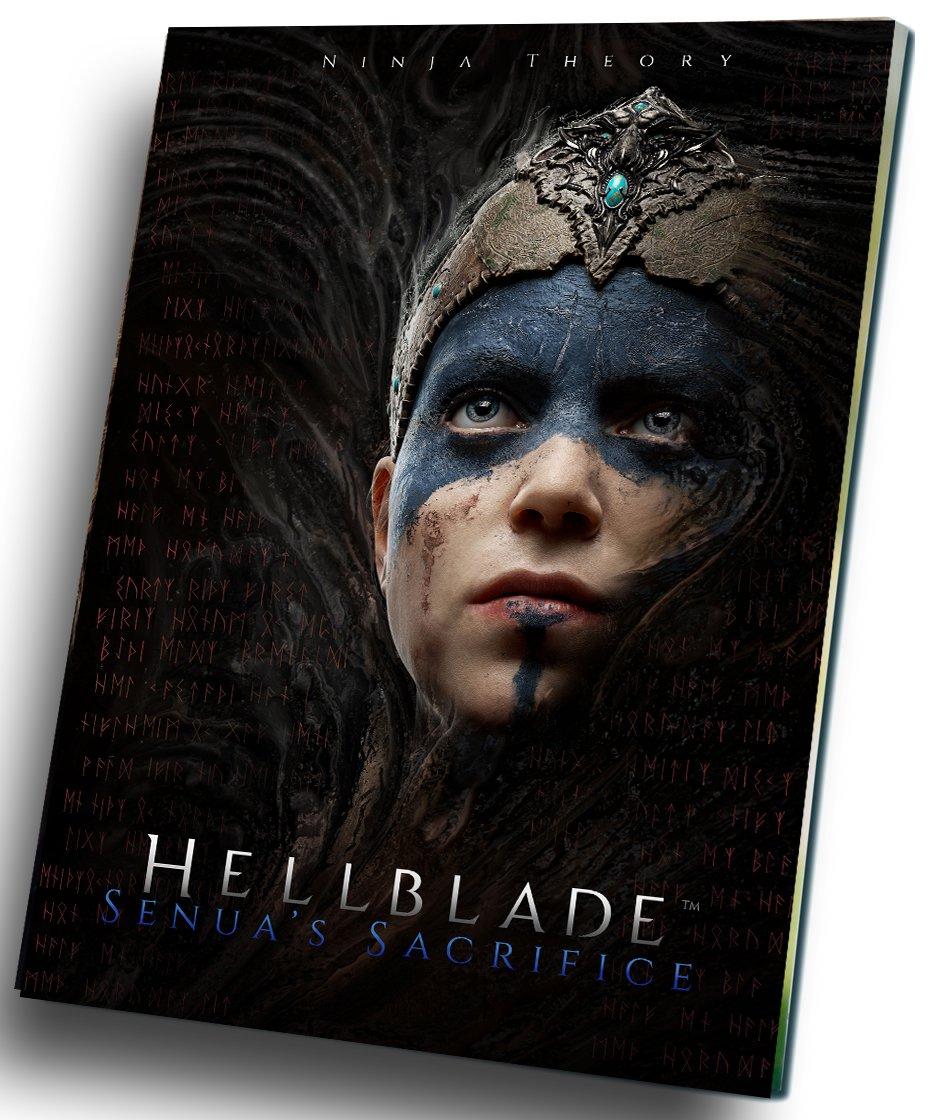 "Hellblade Senua's Sacrifice Game  12""x16"" (30cm/40cm) Canvas Print"