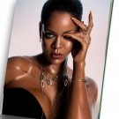 "Rihanna  8""x12"" (20cm/30cm) Canvas Print"