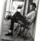 "Clint Eastwood  12""x16"" (30cm/40cm) Canvas Print"