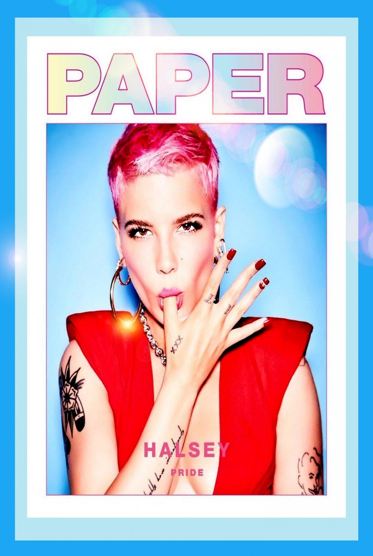 "Halsey  13""x19"" (32cm/49cm) Poster"