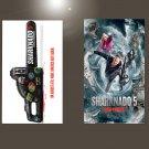 "Sharknado 5 Global Swarming 2017  18""x28"" (45cm/70cm) Bundle of 2 Posters"