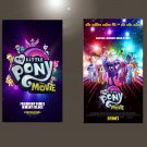"My Little Pony The Movie  18""x28"" (45cm/70cm) Bundle of 2 Posters"