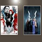 "Inhumans TV Series 2017   13""x19"" (32cm/49cm) Bundle of 2 Posters"