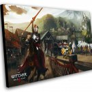 "The Witcher 3 Wild Hunt Blood and Wine Game 12""x16"" (30cm/40cm) Canvas Print"