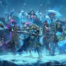 "Hearthstone Knights of the Frozen Throne Game 13""x19"" (32cm/49cm) Poster"