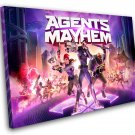 "Agents of Mayhem Game 8""x12"" (20cm/30cm) Canvas Print"