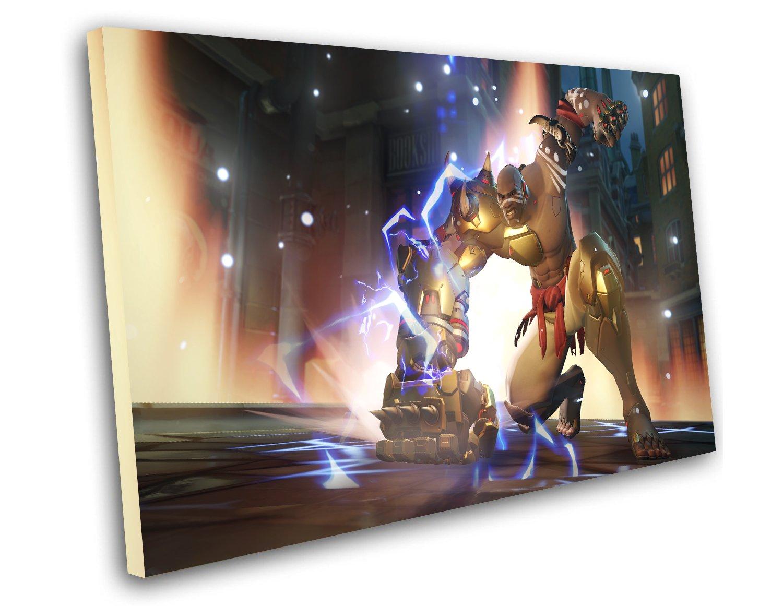 "Overwatch Doomfist Game 8""x12"" (20cm/30cm) Canvas Print"