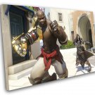 "Overwatch Doomfist Game 8""x12"" (20cm/30cm) Canvas Print"