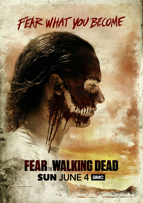 "Fear the Walking Dead TV series  18""x28"" (45cm/70cm) Poster"