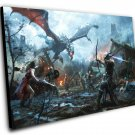"The Elder Scrolls Legends Heroes of Skyrim   12""x16"" (30cm/40cm) Canvas Print"