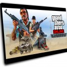 "Grand Theft Auto Game   8""x12"" (20cm/30cm) Canvas Print"