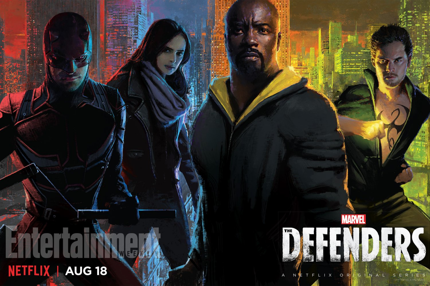 "The Defenders  13""x19"" (32cm/49cm) Poster"