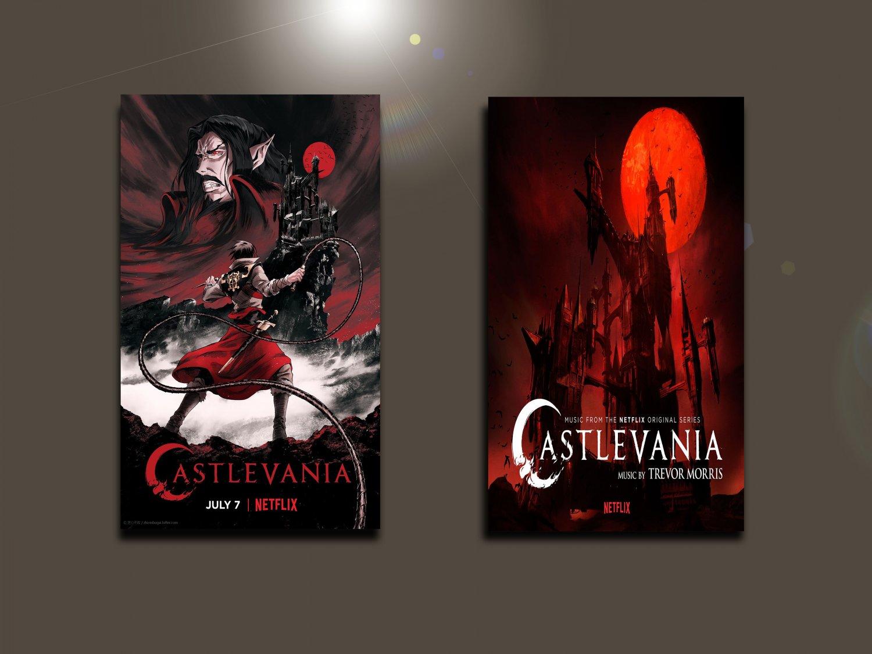 """Castlevania Netflix Series  18""""x28"""" (45cm/70cm) Bundle of 2 Posters"""