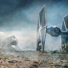 "Star Wars The Force Awakens Tie Fighter Movie 13""x19"" (32cm/49cm) Poster"