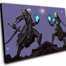 "Diablo 3 Necromancer  Game 12""x16"" (30cm/40cm) Canvas Print"