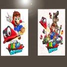 "Super Mario Odyssey   18""x28"" (45cm/70cm) Bundle of 2 Posters"