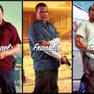 "Grand Theft Auto 5 V Game 13""x19"" (32cm/49cm) Poster"