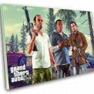 "Grand Theft Auto 5 V Game 8""x12"" (20cm/30cm) Canvas Print"
