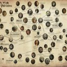 """Game of Thrones Characters Map  13""""x19"""" (32cm/49cm) Poster"""