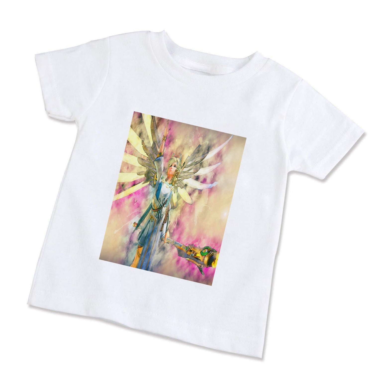 Overwatch Mercy Game  Unisex Children T-Shirt (Available in XS/S/M/L)