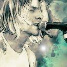 "Kurt Cobain Nirvana  13""x19"" (32cm/49cm) Poster"