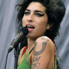 """Amy Winehouse  13""""x19"""" (32cm/49cm) Polyester Fabric Poster"""
