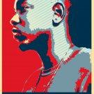 "Kendrick Lamar   13""x19"" (32cm/49cm) Polyester Fabric Poster"
