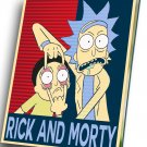 "Rick and  Morty  12""x16"" (30cm/40cm) Canvas Print"