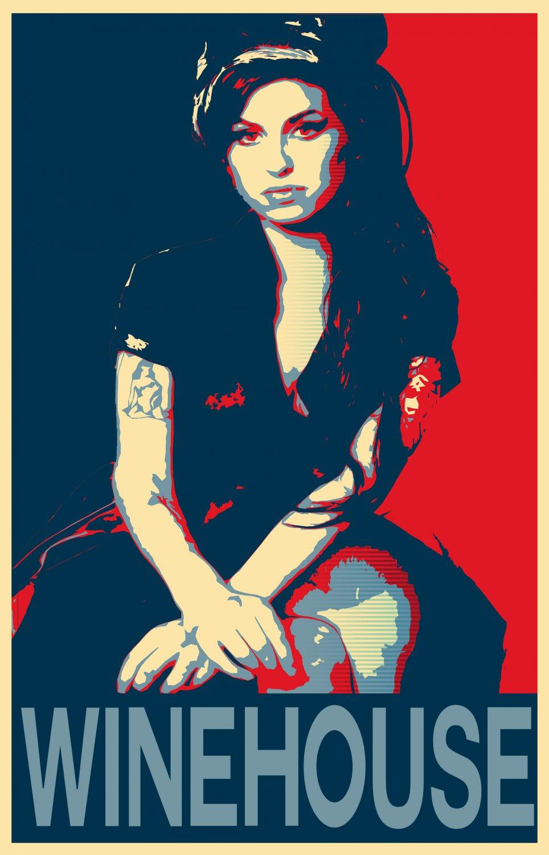 "Amy Winehouse 18""x28"" (45cm/70cm) Poster"
