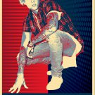 """Justin Bieber   13""""x19"""" (32cm/49cm) Polyester Fabric Poster"""
