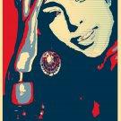 "Alicia Keys   13""x19"" (32cm/49cm) Polyester Fabric Poster"