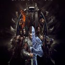 "Middle Earth Shadow of War 13""x19"" (32cm/49cm) Polyester Fabric Poster"