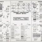 """Cocktails Construction Chart  18""""x28"""" (45cm/70cm) Poster"""