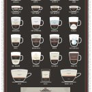 """Exceptional Expressions of Espresso Chart  18""""x28"""" (45cm/70cm) Poster"""