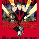 """Green Day  13""""x19"""" (32cm/49cm) Polyester Fabric Poster"""